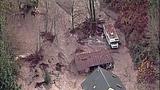 Broken beaver dam floods homes, road - (5/20)