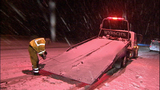 Pass snow causes challenges, mishaps for drivers - (3/12)