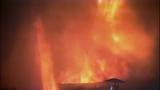 Fire turns storage units into red-hot metal - (6/19)