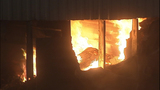 Fire turns storage units into red-hot metal - (7/19)