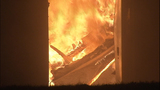 Fire turns storage units into red-hot metal - (4/19)