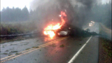 Cars destroyed on highway in bizarre fire - (3/4)