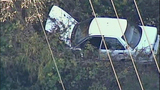 Car careens off road, crashes in ravine - (6/8)