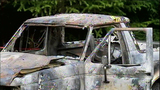 Body found in wreckage of burned car - (14/21)