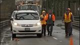 Crews inspect Snohomish River Bridge - (2/13)