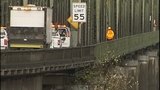Crews inspect Snohomish River Bridge - (3/13)