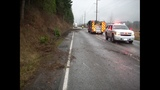 Semi truck crumbles, load spills in crash - (3/4)