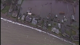Town flooded on Camano Island - (1/10)