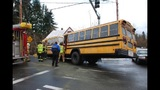 School bus crashes in Kent - (2/4)