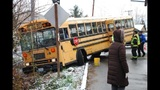 School bus crashes in Kent - (1/4)