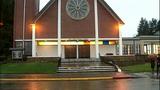 Windows shattered at Tacoma church - (11/15)