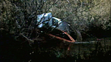 Car goes airborne into river in fatal crash - (1/8)
