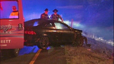 Tire ripped off car in mystery rollover crash - (5/6)
