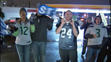 Fans greet returning Seahawks - (12/12)