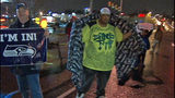 Fans greet returning Seahawks - (9/12)