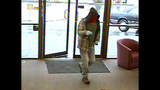 Red-masked bank robber caught on camera - (1/3)