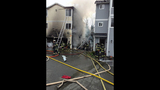 Images of South Seattle townhouses fire - (4/9)