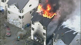 Images of South Seattle townhouses fire - (5/9)