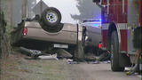 Fleeing driver crashes into oncoming pickup - (7/10)