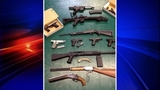 Stolen guns, other goods crammed in SUV - (1/13)