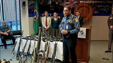 Police show off weapons collected at event - (6/7)