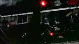 Fire destroys, chars Burien apartments - (3/8)