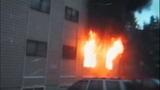 Fire destroys, chars Burien apartments - (1/8)