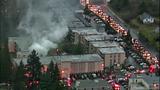 Fire destroys, chars Burien apartments - (5/8)