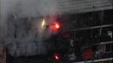 Fire destroys, chars Burien apartments - (2/8)