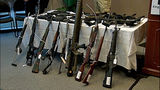 Police show off weapons collected at event - (3/7)