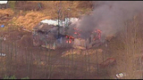 Chopper 7 over Ferndale house fire - (20/23)