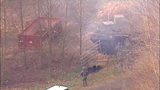 Chopper 7 over Ferndale house fire - (19/23)