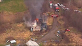 Chopper 7 over Ferndale house fire - (15/23)