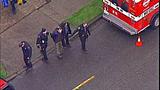 Scenes of police response, arrest - (3/7)