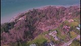 Whidbey Island homes threatened by landslide - (8/21)