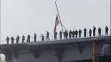 USS Nimitz departs Everett naval station - (5/6)