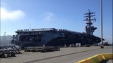 USS Nimitz departs Everett naval station - (2/6)