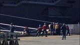 USS Nimitz departs Everett naval station - (4/6)