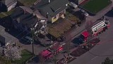 Chopper 7 over Everett house explosion - (8/21)