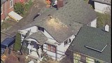 Chopper 7 over Everett house explosion - (5/21)