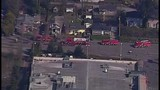 Chopper 7 over Everett house explosion - (7/21)