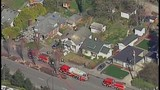 Chopper 7 over Everett house explosion - (9/21)