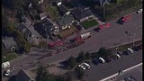 Chopper 7 over Everett house explosion - (3/21)