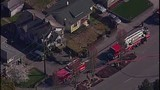 Chopper 7 over Everett house explosion - (13/21)