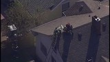 Chopper 7 over Everett house explosion - (20/21)