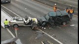 Head-on crash on SR 520 at Montlake - (1/13)