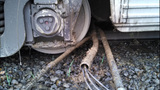 Amtrak train derails near Everett - (1/5)