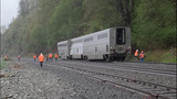 Amtrak train derails near Everett - (4/5)