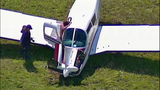 Small plane crash lands in cow pasture - (9/10)