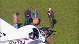 Small plane crash lands in cow pasture - (10/10)